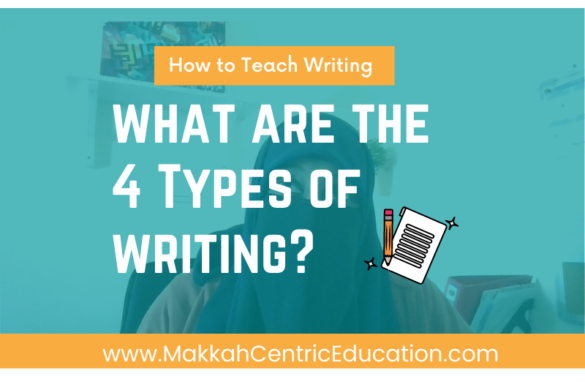 4 Types of Writing With Examples
