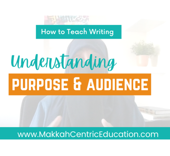 Understanding Purpose & Audience in Writing – it's important